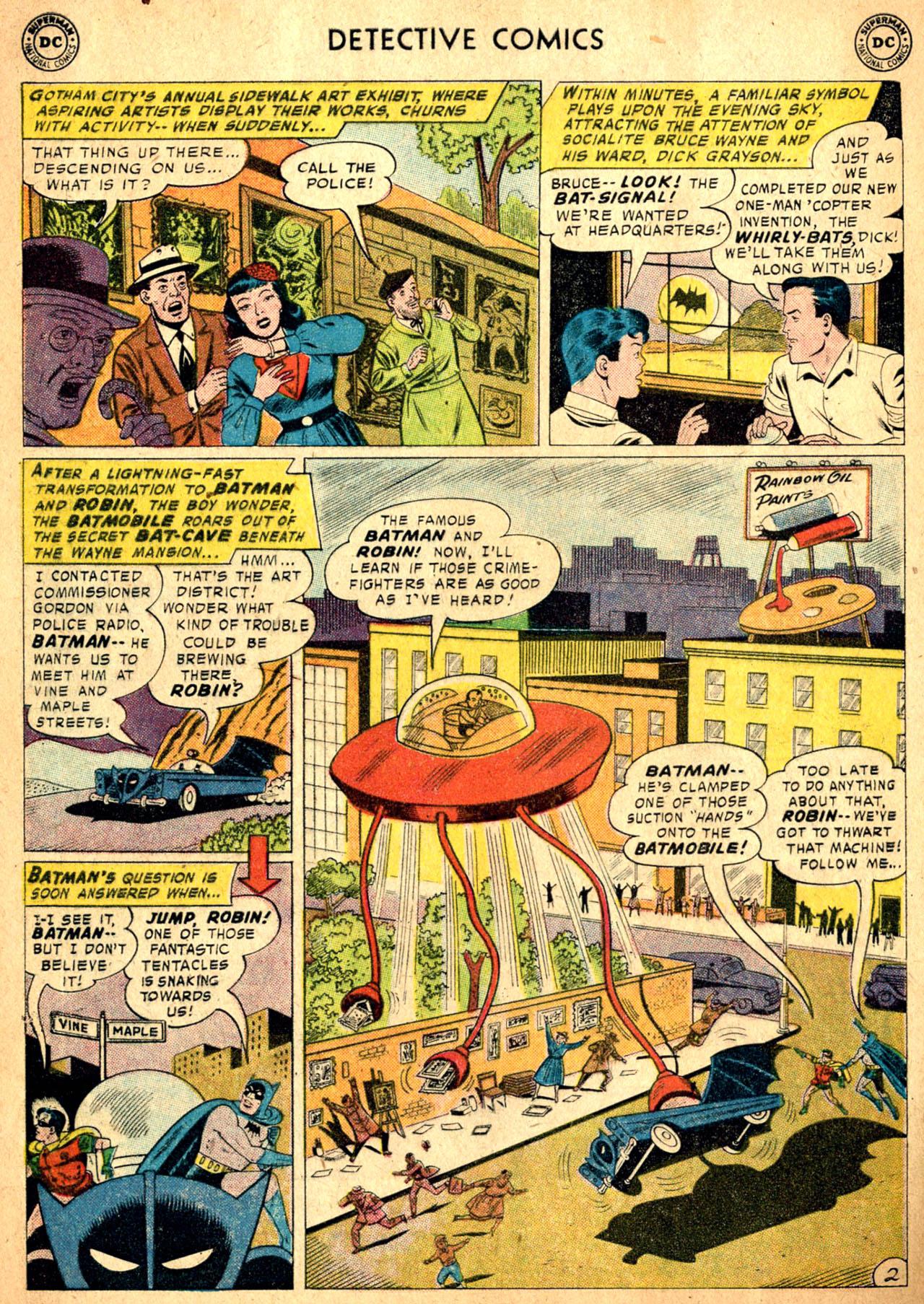 Read online Detective Comics (1937) comic -  Issue #257 - 4