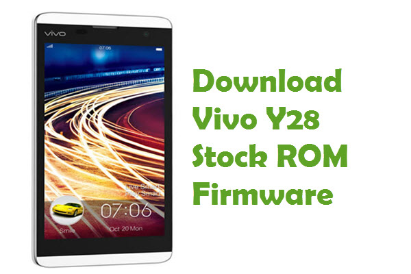 Vivo Y95 Firmware Download