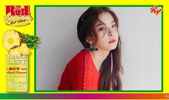 The Red Summer Seulgi Red Velvet