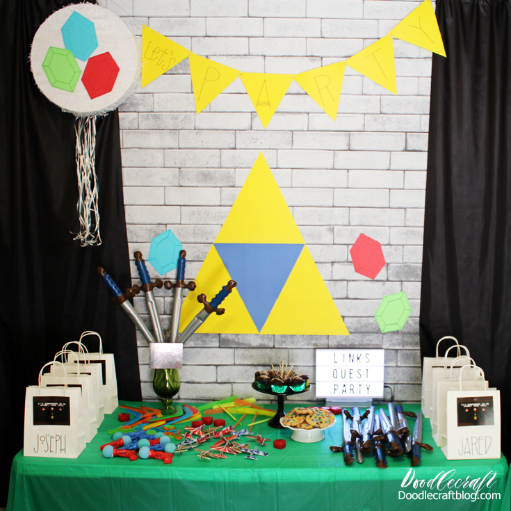 Legend Of Zelda Links Quest Birthday Party