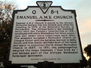 Emanuel A.M.E. Church, Portsmouth VA