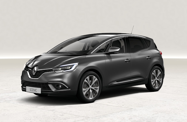 renault scenic gris cassiopee