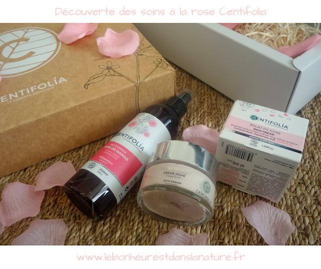Découverte des soins à la rose Centifolia + #CONCOURS