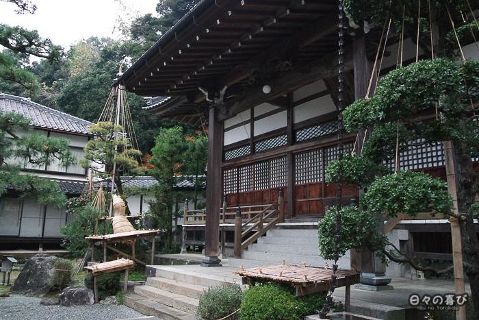 temple honju-ji façade et yuki tsuri