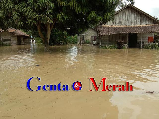 Banjir Kembali Hantam Lamteng, Mataram Ilir Terendam