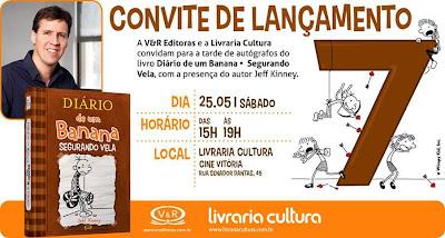 News: Jeff Kinney, autor de Diario de um banana no Brasil 10