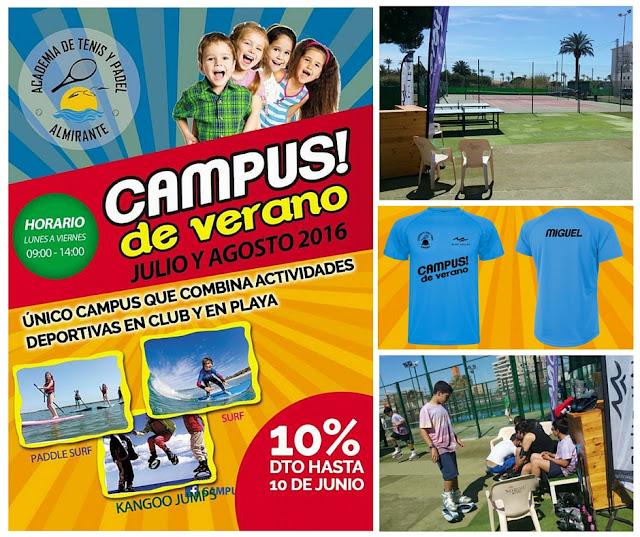 campus de verano almirante alicante