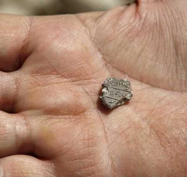 Selo de Belém na mão