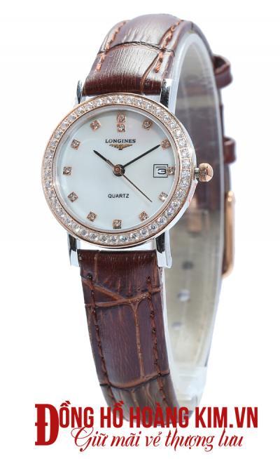 bán đồng hồ nữ dây da cao cấp