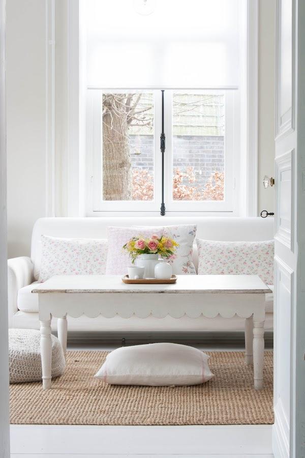 Un hogar nórdico y romántico