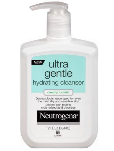 pencuci muka neutrogena untuk kulit sensitif