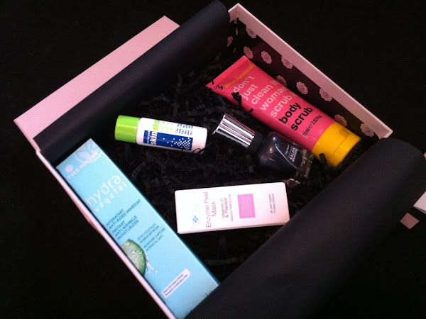 October Glossybox Review