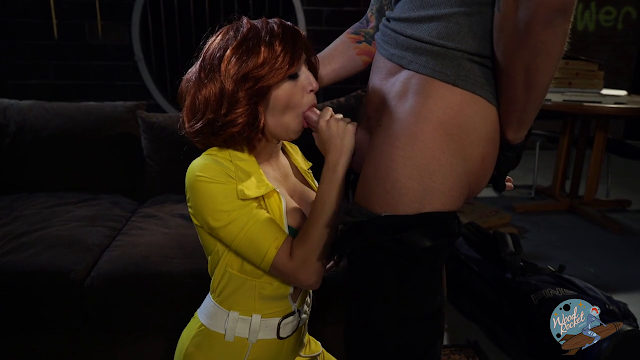 April O'Neil - Ten Inch Mutant Ninja Turtles - The XXX Parody