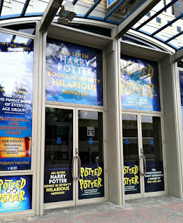 the Little Shubert Theatre, 42nd Street, current home of POTTED POTTER