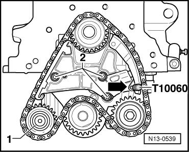 calage kit lachin de pompe huile et vibration moteur POLO