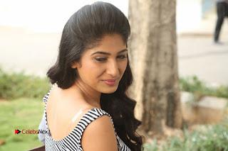Telugu Actress Roshini Prakash Stills Short Dress at Saptagiri Express Release Press Meet  0292.JPG