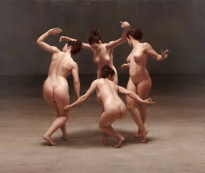 La Fantasía Erótica de Pintar Desnudos Óleos de Harry Holland
