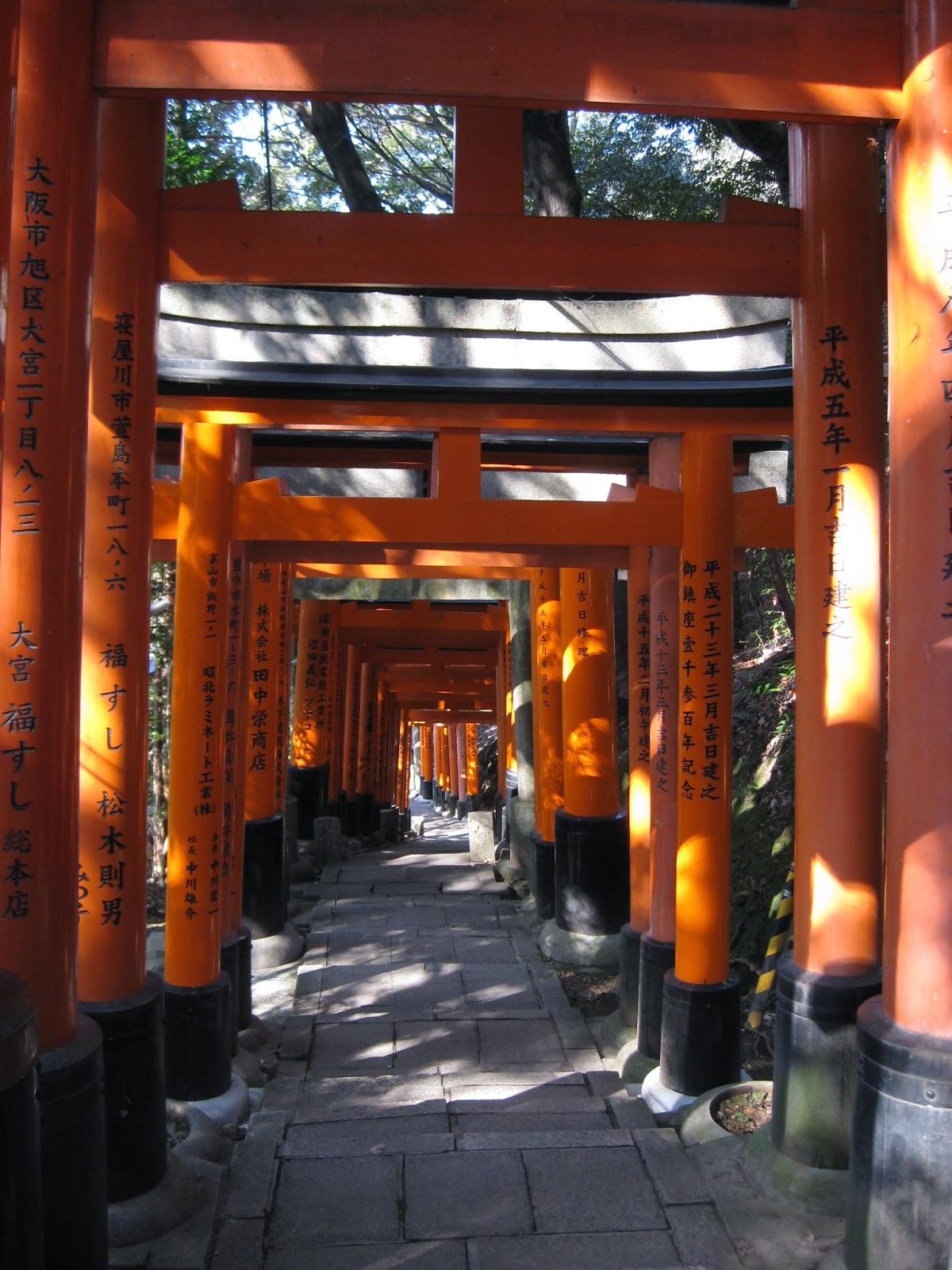 Kyoto - Fushimi Inari-taisha Shrine gates