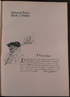 "A page of text from ""Howard Pyle's Book of Pirates."""