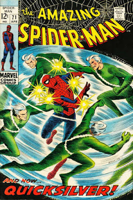 Amazing Spider-Man #71, Quicksilver