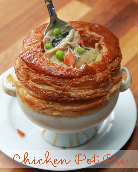 #Recipe : Chicken Pot Pie