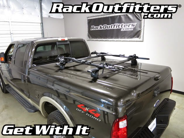 Rack Outfitters Ford F 150 Thule Rapid Podium Black