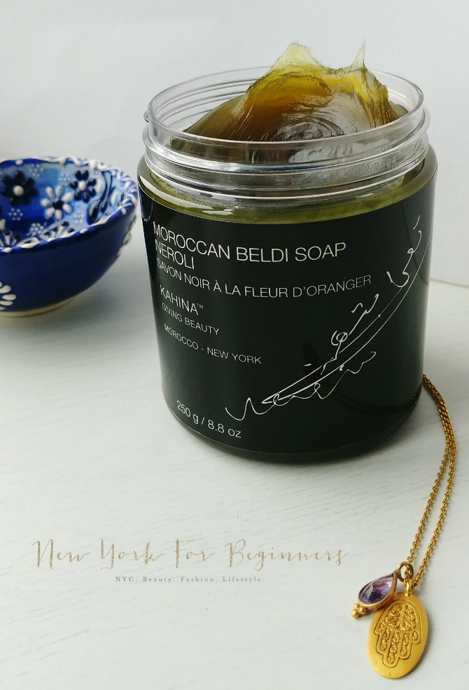 Kahina Neroli Moroccan Beldi Soap Review at New York For Beginners