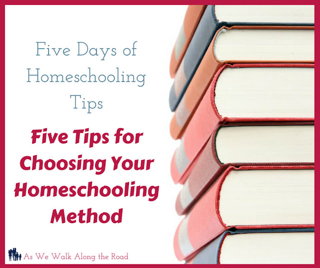 Choosing your homeschooling method