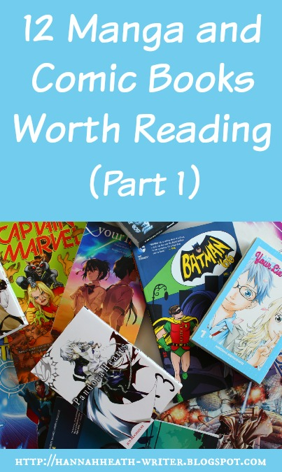 Hannah Heath: 12 Manga and Comic Books Worth Reading (Part 1)