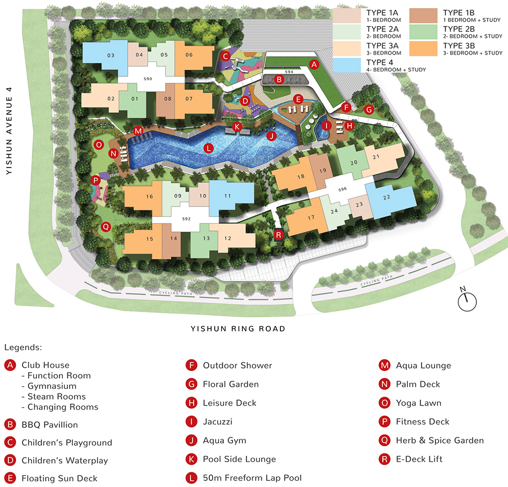 The Wisteria Site Plan