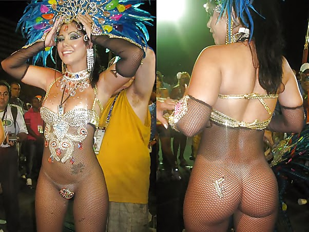 Nude carnaval tube frankly, you