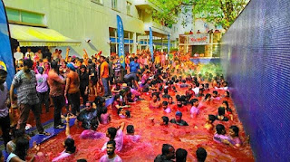 Holi 2017 Pool Party.