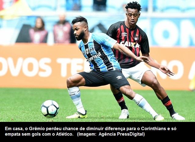 df9dbbc26c Blognetto  Brasileirão  Grêmio perde chance de diminuir diferença ...