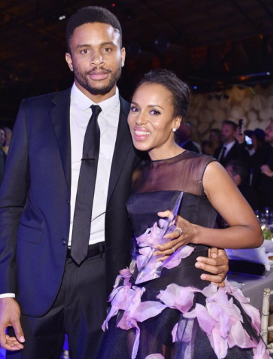 kerry washington gives birth to baby boy for nigerian
