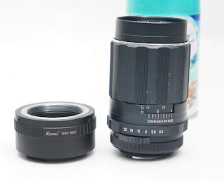 Lensa Takumar 135mm f3.5 ( Super Multi Coated )