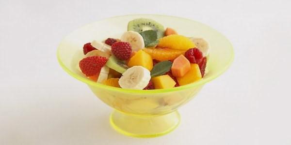 факт про тропический лес тарелка с фруктами