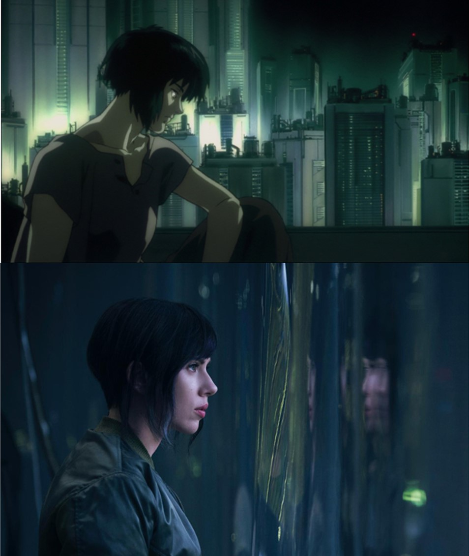Transhumanism In Ghost In The Shell Movie Ft. Scarlett