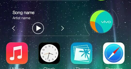 Theme Ios 7 Iphone for Vivo