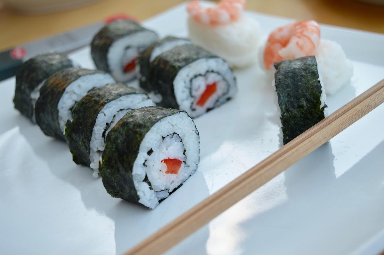 Sushi Making With Kids - A Tutorial for Beginners with Yutaka - homemade sushi recipe
