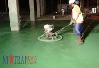 jasa floor hardener beton murah