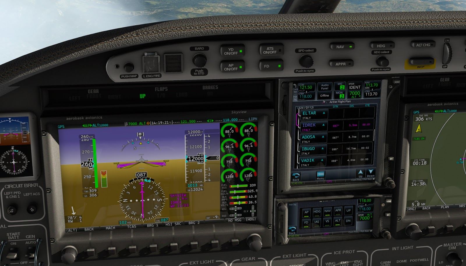 Flying the Eclipse 550 NG in X-Plane 11 26