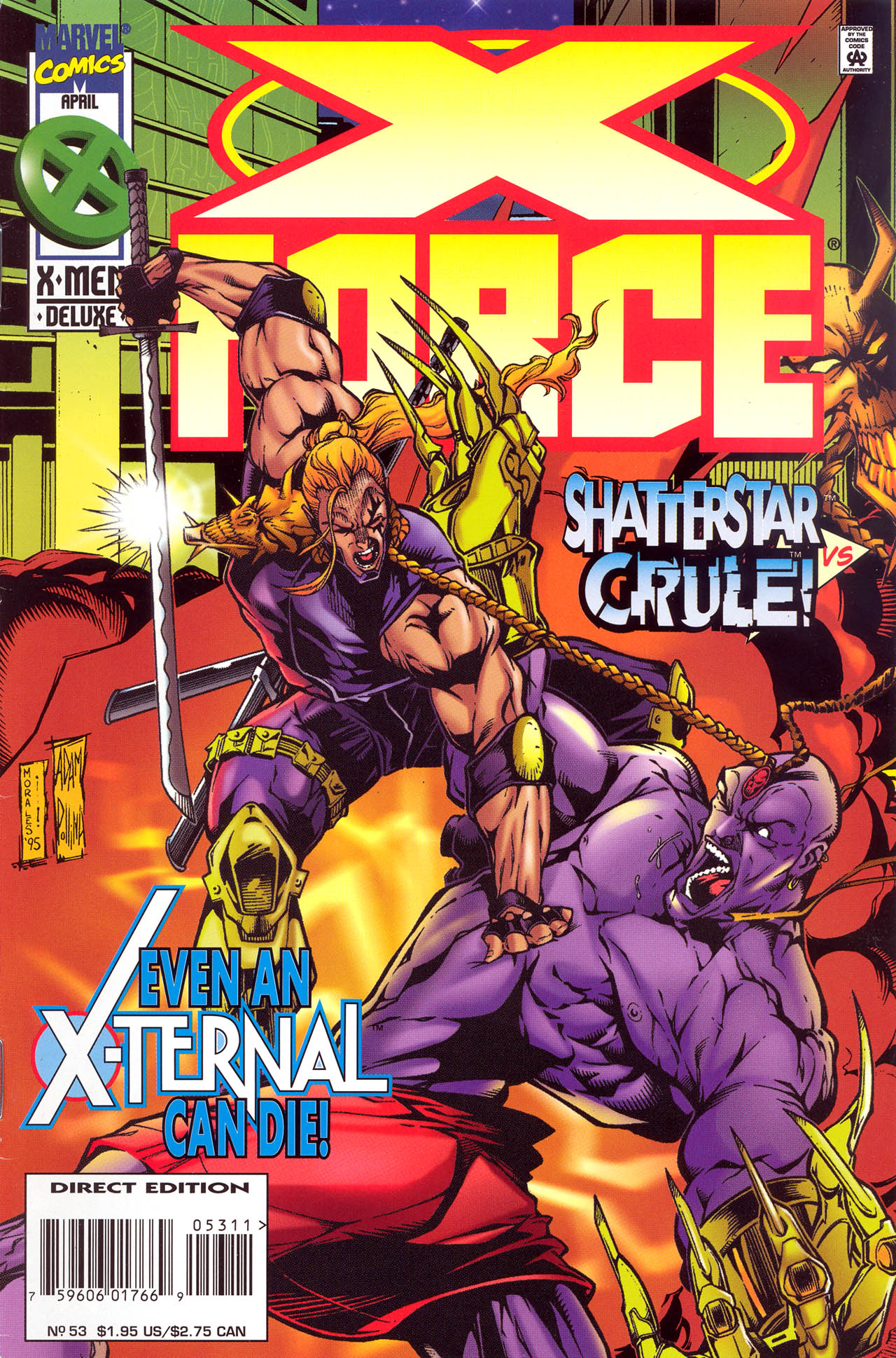 X-Force (1991) 53 Page 1