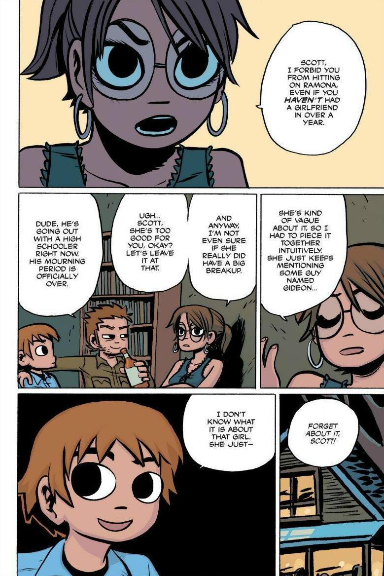Read online Scott Pilgrim comic -  Issue #1 - 56