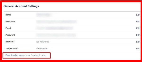 how to retrieve deleted messages on my facebook account