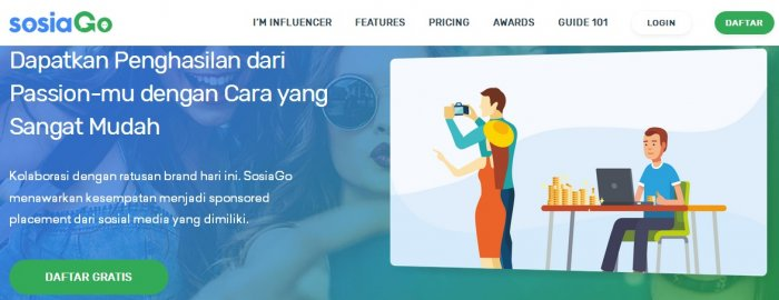 Coba SOSIAGO Influencer Marketing Sekarang