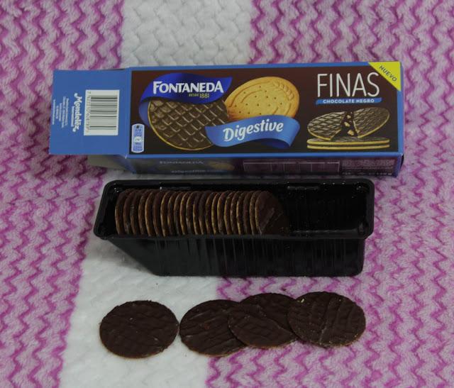 Fontaneda Digestive Finas Chocolate Negro