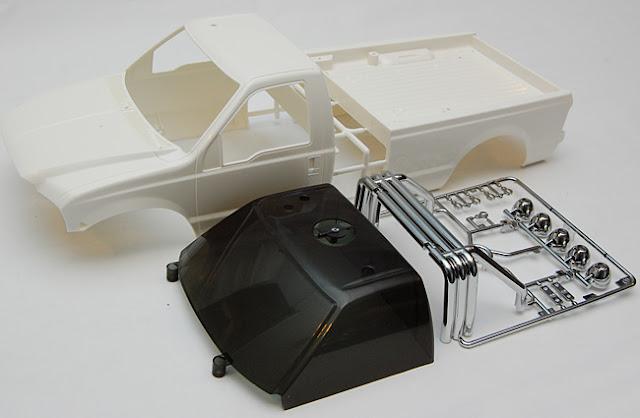 Tamiya High Lift Ford F-350 Body