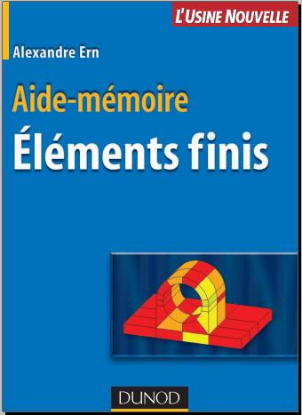 Livre : Aide-mémoire des éléments finis - Alexandre Ern