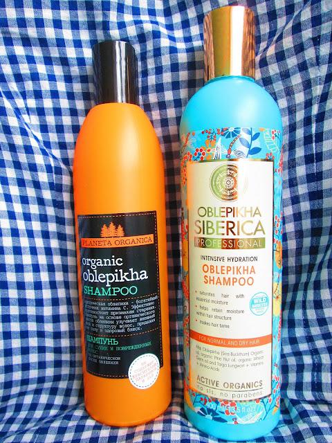 Natura Siberica, Szampon Rokitnikowy Intensywne Nawilżenie do włosów normalnych i suchych.