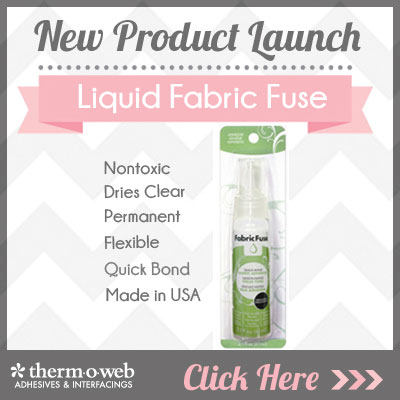 Fabric Fuse Liquid Adhesive
